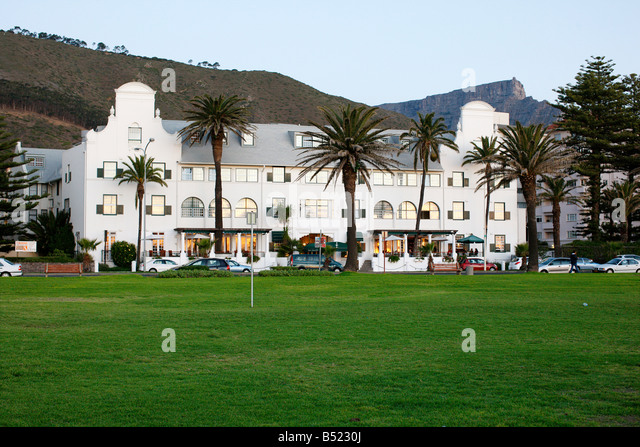 Winchester Manions Hotel, Sea Point,  Cape Town - Stock Image