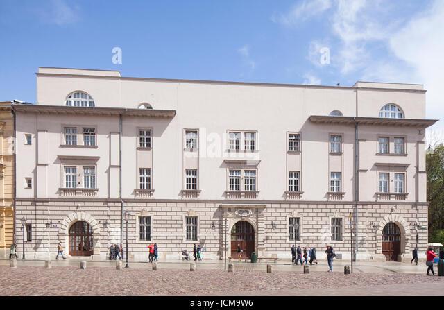 Arsenal Wladyslawa IV, Grodzka street , Stare Miasto old town, Krakow, Lesser Poland, Poland, Europe - Stock-Bilder