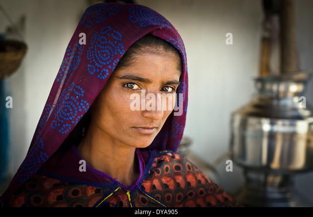 Rabari woman , Janan , Kutch ,India - Stock-Bilder
