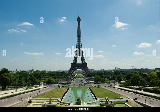 Eiffel tower paris - Stock Image