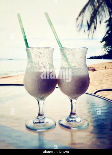Cocktails on holiday - Stock-Bilder