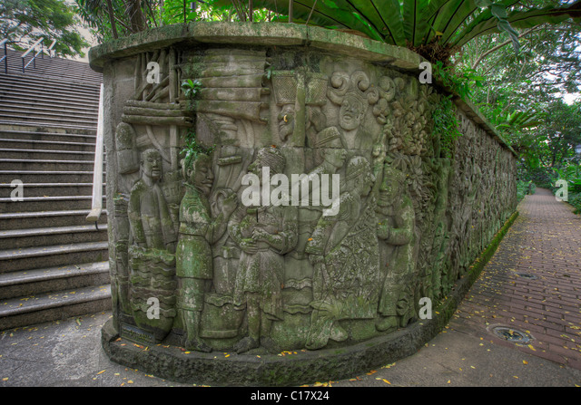 Fort canning park stock photos