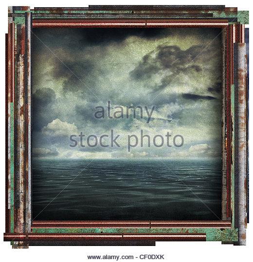ocean picture - Stock Image