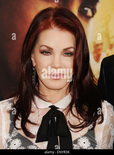 PRISCILLA PRESLEY former wife of Elvis in May 2015. Photo Jeffrey Mayer - Stock Image