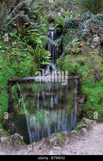 Japanese garden fountain stock photos japanese garden for Japanese garden water fountain