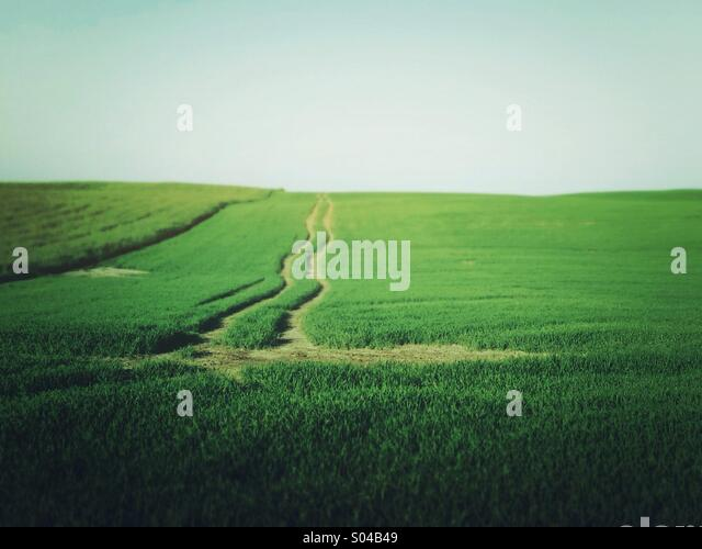 Landscapes in countryside - Stock-Bilder