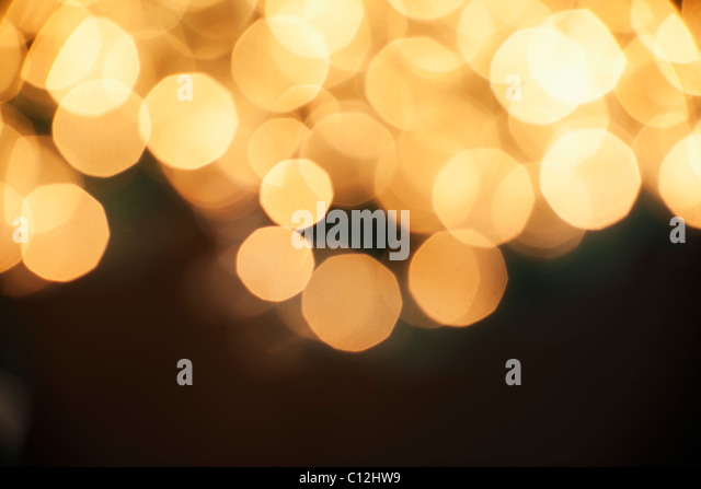 Abstract illuminated dotted background - Stock Image