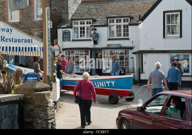 Port Issac Cornwall - Stock Image