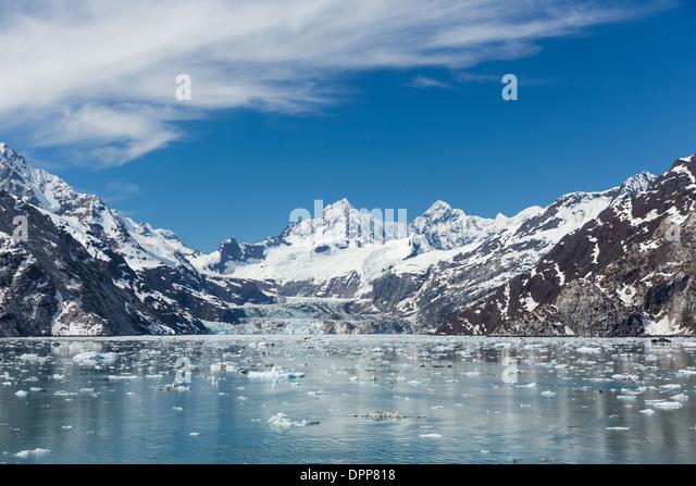 Johns Hopkins Inlet, Glacier Bay, Alaska. - Stock-Bilder