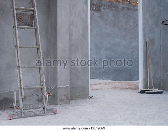House under construction - Stock-Bilder