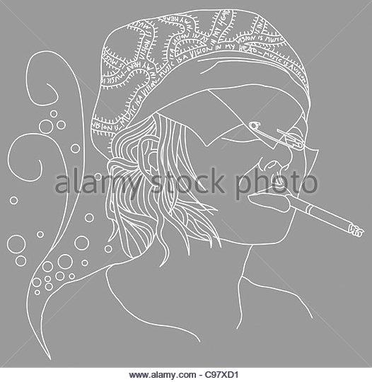secret vision - Stock Image