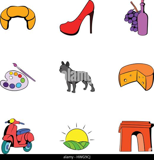French Icons Stock Photos amp Images Alamy