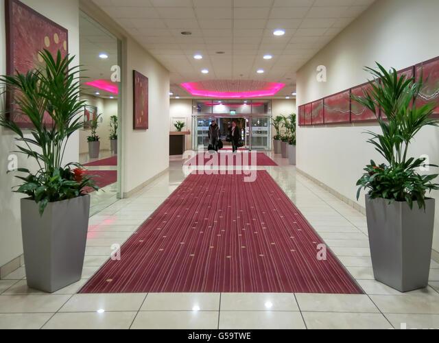 Hotel Corridor With Carpet Stock Photos Hotel Corridor