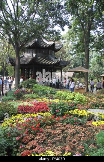 The Humble Administrator's Garden, Suzhou, Jiangsu province, China - Stock Image