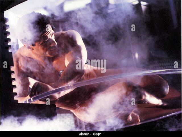 DEMOLITION MAN (1993) SYLVESTER STALLONE DMM 007FOH - Stock Image