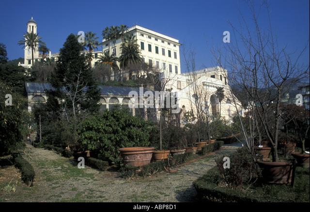 Palazzo Grimaldi Pallavicini - Stock Image