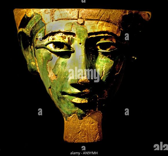 Antiquity Egypt Egyptian Mask 800 b.c. - Stock-Bilder