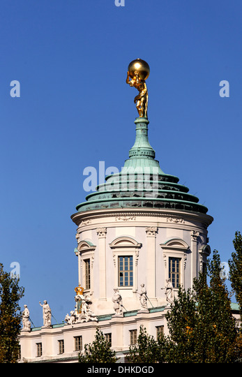 Old twon hall at old market place, Potsdam, Brandenburg, Germany - Stock Image