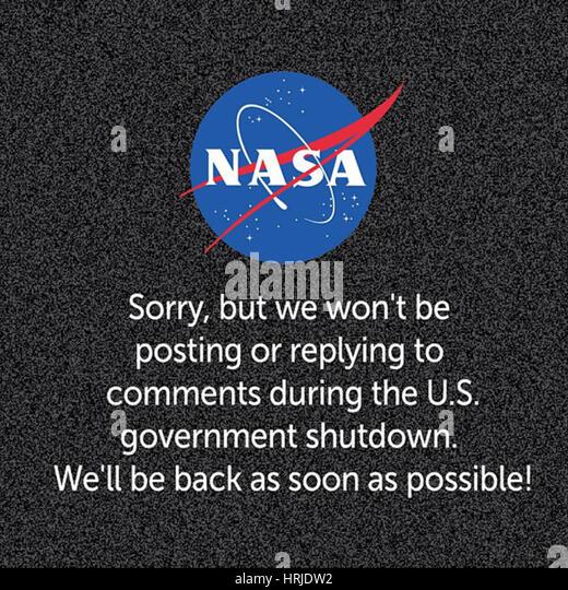 U.S. Government Shutdown, 2013 - Stock Image