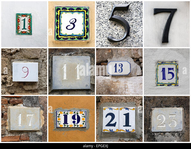 Odd Number Stock Photos Amp Odd Number Stock Images Alamy