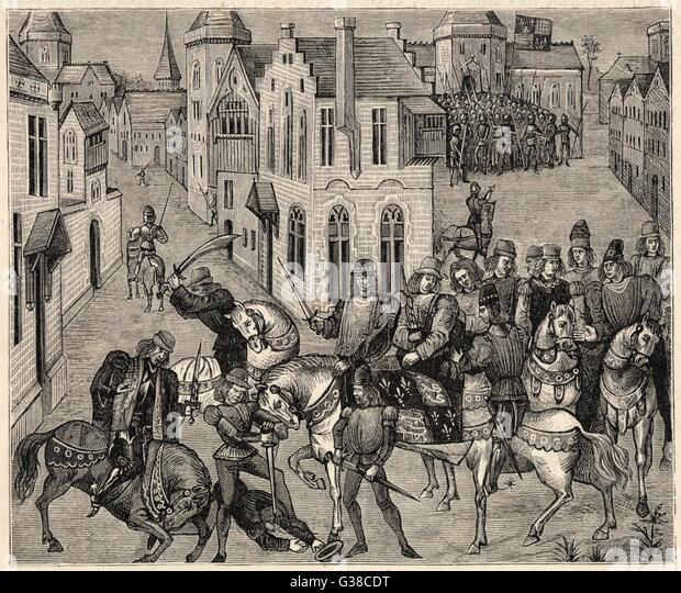 an introduction to wat tyler and his peasants in 1381 in london The rebels in london: king richard and wat tyler  41  excellent  preface by m petit-dutaillis1 the book is now out of print and almost  14 this  was four years before the peasants' revolt of 1381, but the.
