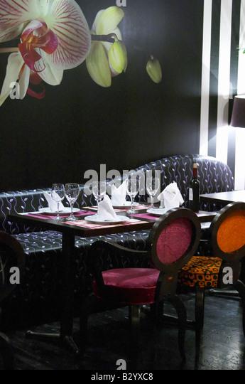 Restaurant Berdema Ton Gefseon. Drama, Macedonia, Greece - Stock Image