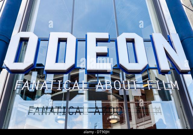 Branch of the Odeon Cinema chain, Maidenhead, Berkshire, England, GB, UK. - Stock Image