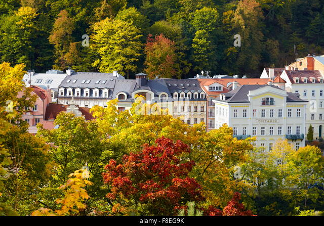 Karlovy Vary, Czech Republic, Europe - Stock-Bilder