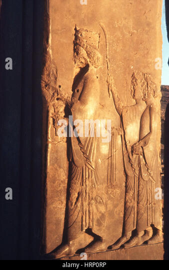 Ancient Carvings - Stock Image