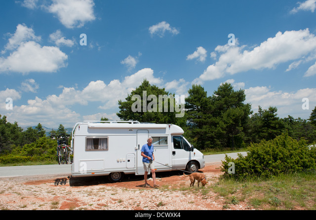 Mobile Home France Stock Photos Mobile Home France Stock