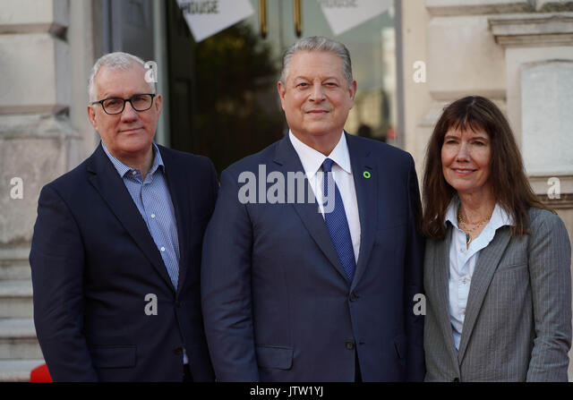 London, UK. 10th August, 2017. David Linda and Diane Weyermann, the producers of An Inconvenient Sequel Truth To - Stock Image