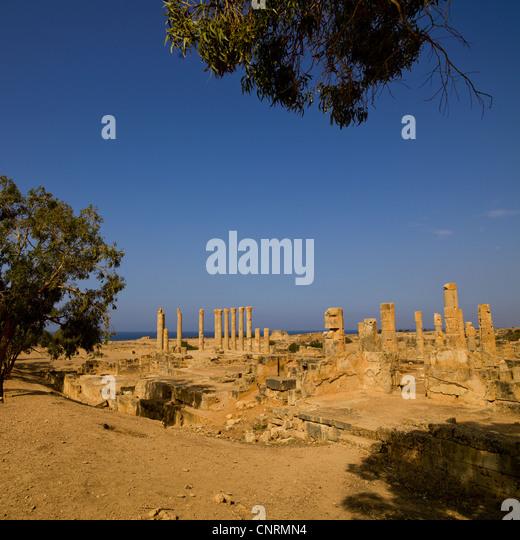 Ptolemais old town, Libya - Stock-Bilder