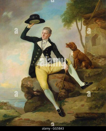 Johan Joseph Zoffany - Patrick Heatly - Stock Image