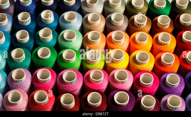Sewing background - Stock Image
