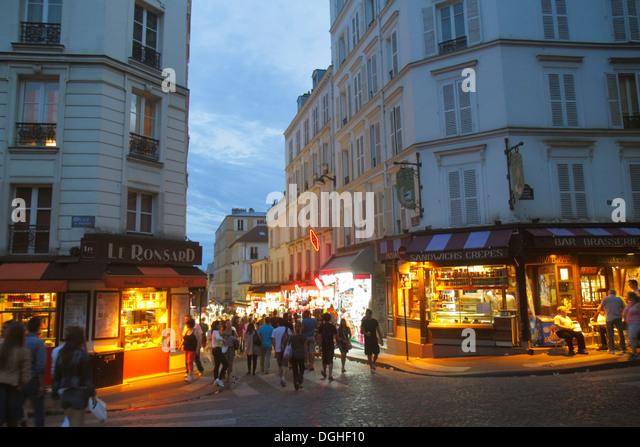 Saint pierre market stock photos saint pierre market stock images alamy - Place saint pierre paris ...