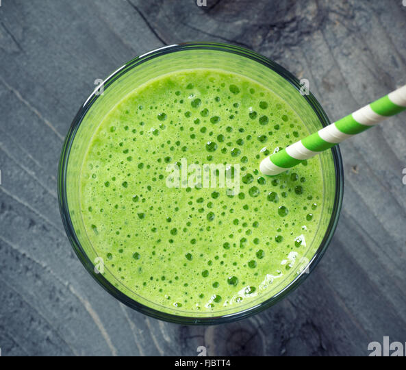 Green Smoothie - Stock Image