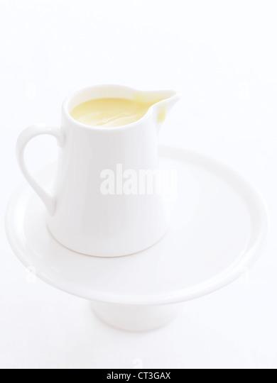 Close up of jug of juice - Stock Image