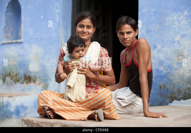 Typical Indian Family House Stock Photos & Typical Indian ...