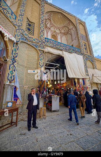 Taken @Naqsh-e Jahan square, Esfahan, Iran - Stock Image