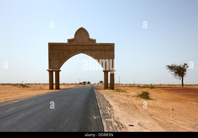 Touba Gate, Senegal, Africa - Stock Image