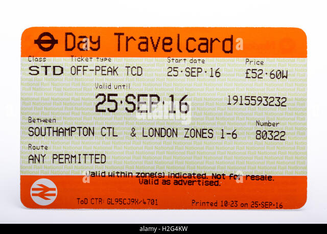 Day Travel Card London Fares
