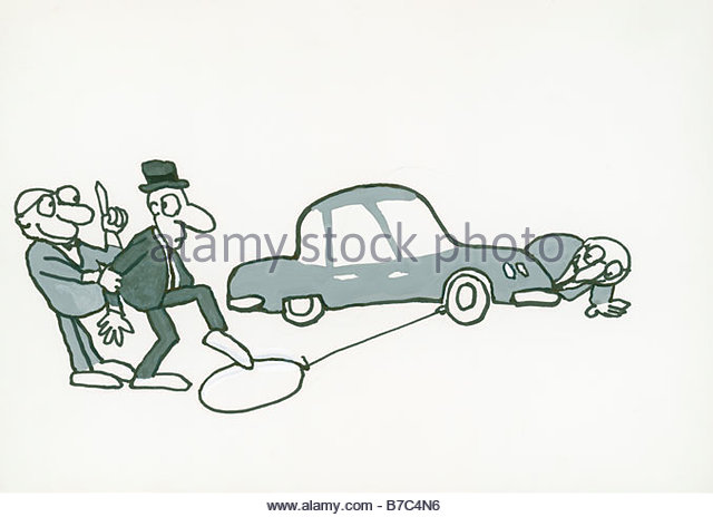 Car Buyer Beware - Stock Image