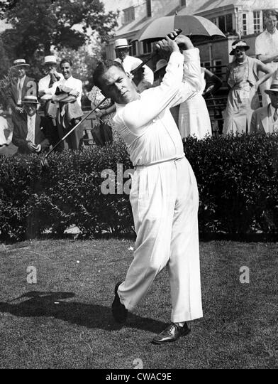Bobby Jones at North Shore Country Club near Chicago, 1933. Courtesy: CSU Archives / Everett Collection - Stock Image