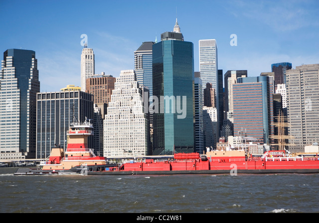 USA, New York State, New York City, City skyline - Stock Image