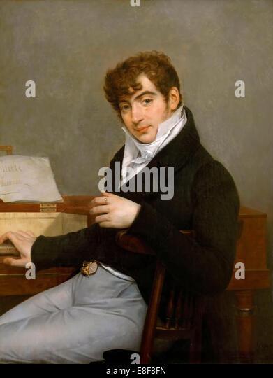 Pierre-Joseph-Guillaume Zimmermann. Artist: Gros, Antoine Jean, Baron (1771-1835) - Stock Image