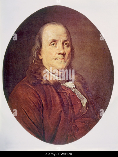 Benjamin Franklin (1706-1790) - Stock Image