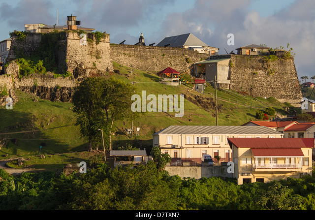 Fort George, St. George's, Grenada, Windward Islands, West Indies, Caribbean - Stock Image