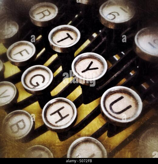 Typewriter - Stock-Bilder