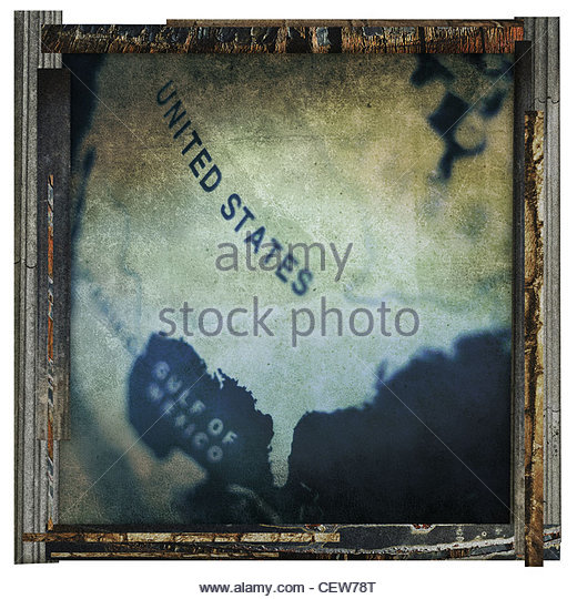 united states print - Stock Image