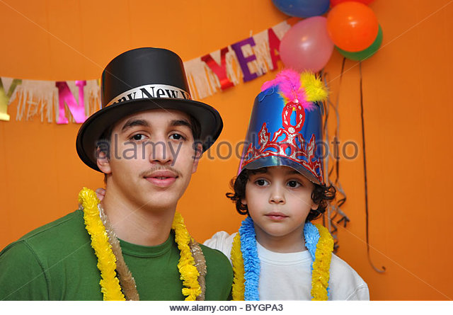 New year eve child stock photos new year eve child stock - New year celebration at home ...
